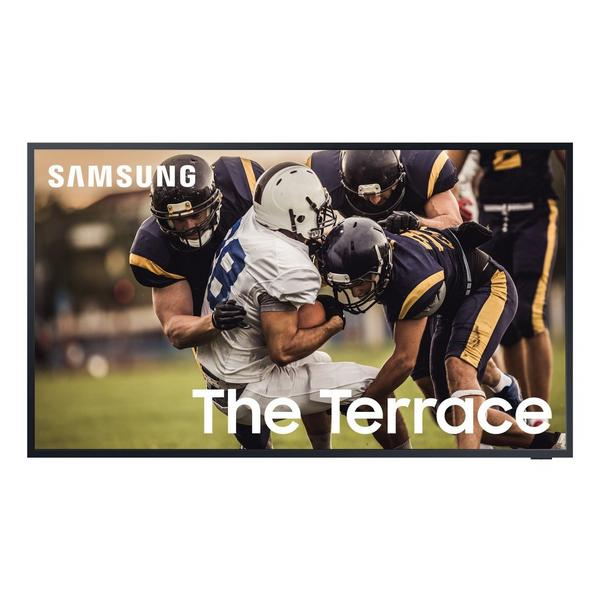 """Samsung QE75LST7TCUXXU 75"""" Terrace 4K QLED Smart Outdoor TV Weather- Resistant Durability (IP55 Rated) with Ultra Bright Picture Qua"""
