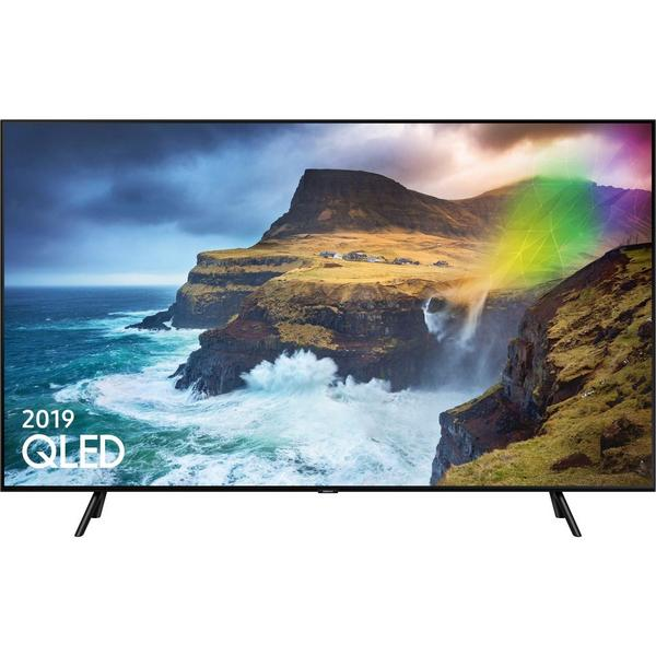 "Samsung QE75Q70RATXXU 75"" QLED 4K HDR 1000 Smart TV,A Rated"