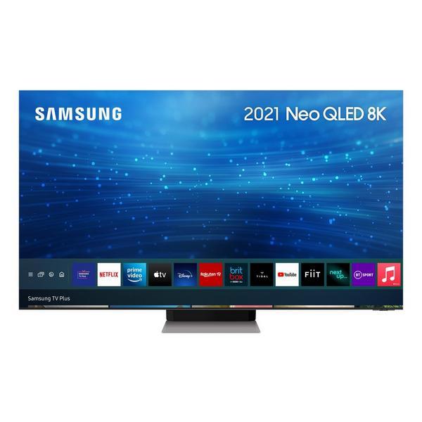 "Samsung QE85QN900ATXXU 85"" 8K Neo QLEDSmart TV Quantum HDR 4000 powered by HDR10+ Quantum Matrix Technology PRO and Infinity Screen"