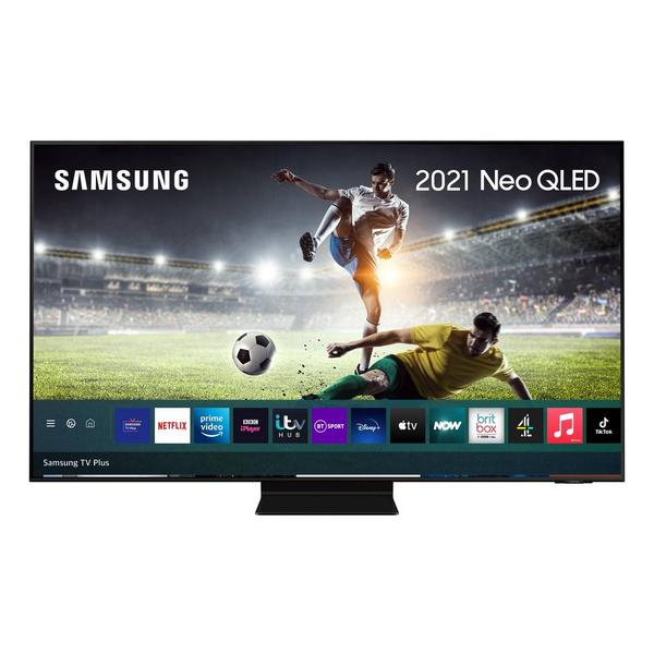 """Samsung QE85QN94AATXXU 85"""" 4K Neo QLED Smart TV Quantum HDR 2000 powered by HDR10+ with Ultra Viewing Angle and Anti Reflection Scr"""