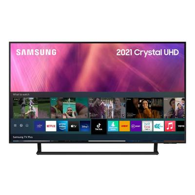 """Samsung UE43AU9000KXXU 43"""" 4K UHD HDR Smart TV Dynamic Crystal Colour with Motion Xcelerator Turbo and Object Tracking Sound LITE"""