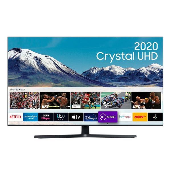 "Samsung UE43TU8500UXXU 43"" 4K Ultra HD LED Smart TV with Boundless Design & Voice Assistants"