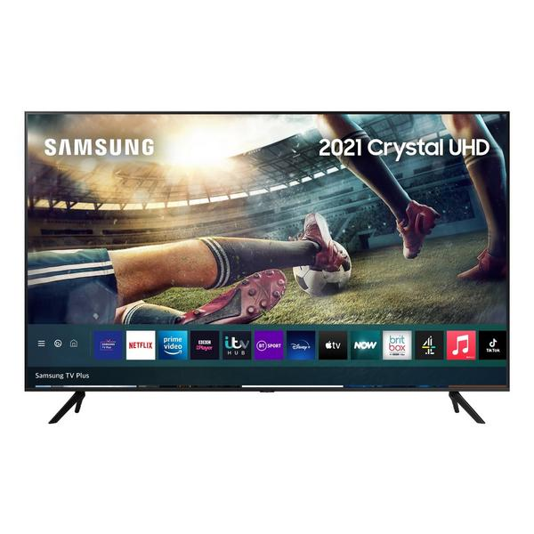 """Samsung UE55AU7100KXXU 55"""" 4K UHD HDR Smart TV HDR powered by HDR10+ with Adaptive Sound and Boundless Screen"""