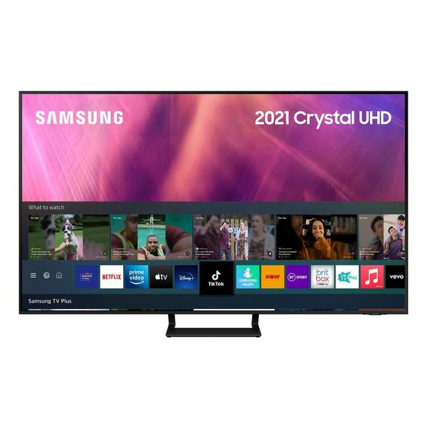 """Samsung UE55AU9000KXXU 55"""" UHD 4K HDR Smart TV Dynamic Crystal Colour with Motion Xcelerator Turbo and Object Tracking Sound LITE"""