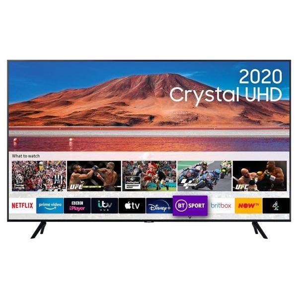 "Samsung UE65TU7100KXX 65"" 4K UHD Smart TV - A+ Energy Rated"