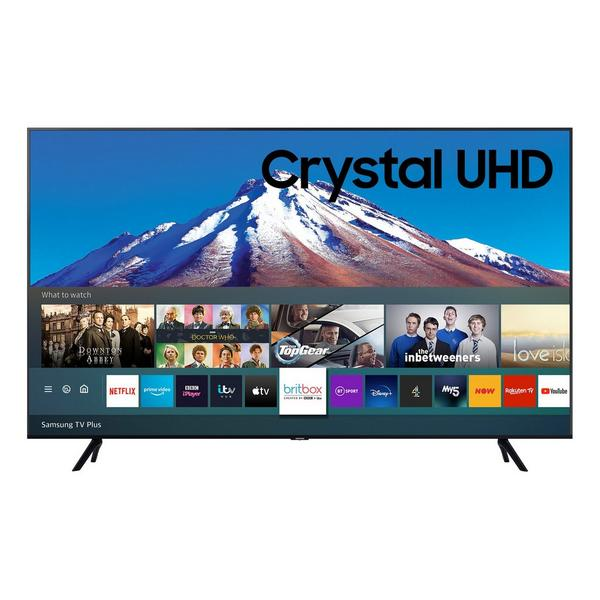 """Samsung UE75TU7020KXXU 75"""" 4K UHD HDR Smart TV Crystal Display with Clean Cable Solution and Game Enhancer"""