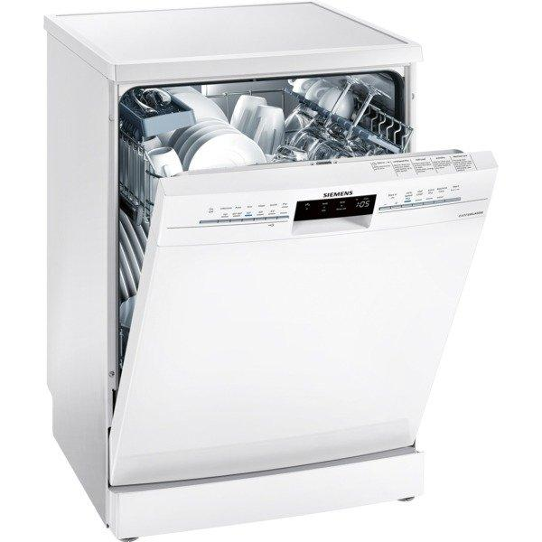 Siemens extraKlasse SN236W02IG Full Size Dishwasher - White - A++ Rated