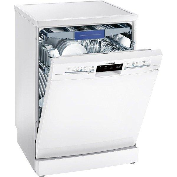 Siemens extraKlasse SN236W02NG Full Size Dishwasher with VarioDrawer - White - 14 Place Settings