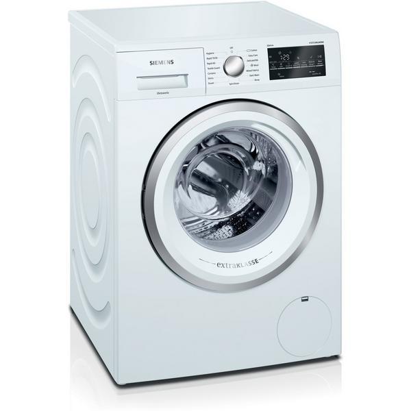 Siemens extraKlasse WM14T492GB iQ500 9kg 1400 Spin Washing Machine - White - A+++-30% Rated
