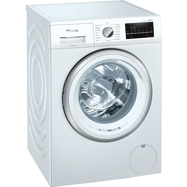 Siemens extraKlasse WM14UT83GB 8kg 1400 Spin Washing Machine with Reload Function - White