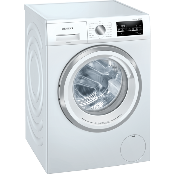 Siemens extraKlasse WM14UT93GB 9kg 1400 Spin Washing Machine with iQdrive motor - White