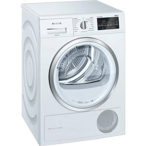 Siemens extraKlasse WT45W492GB 9kg Heat Pump Tumble Dryer - White - A++ Rated