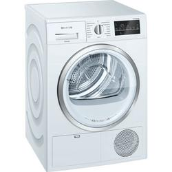 Siemens extraKlasse WT46G491GB Condenser Tumble Dryer - White - B Rated