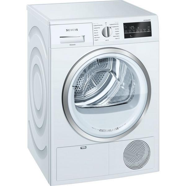 Siemens extraKlasse WT46G491GB iQ500 9kg Condenser Tumble Dryer - White