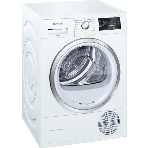 Siemens extraKlasse WT46W491GB 9kg Heat Pump Tumble Dryer - White - A++ Rated