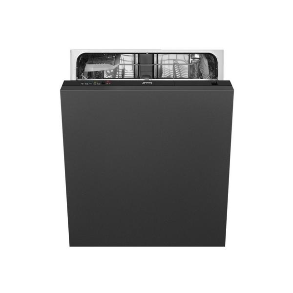 Smeg DI12E1 Integrated Full Size Dishwasher - Black Control Panel - A+ Energy Rated