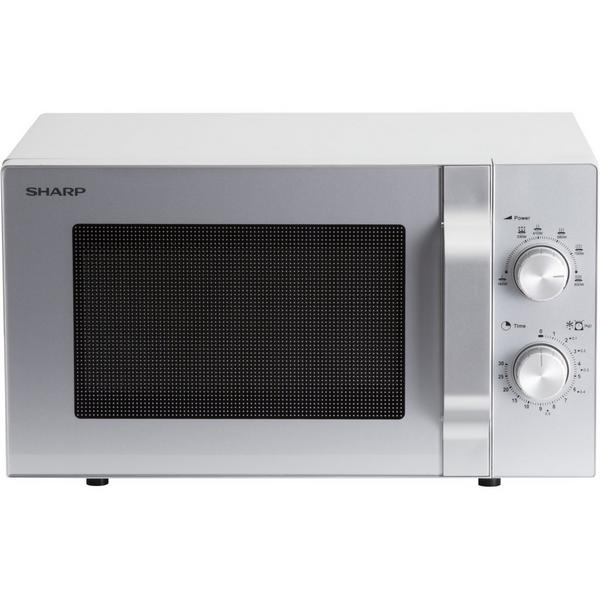 Sharp R204SLM 20 Litre Solo Microwave – Silver