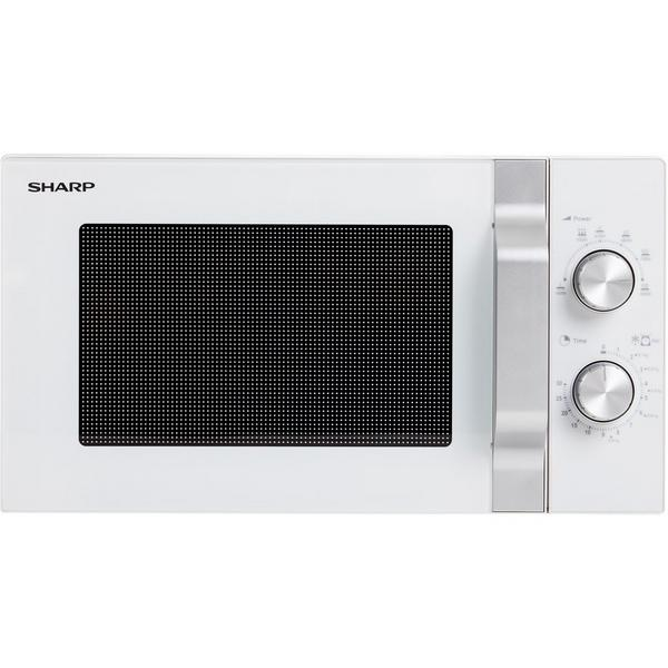 Sharp R204WM 20 Litre Solo Microwave - White