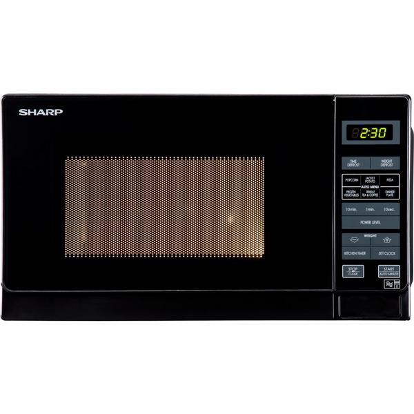 Sharp R272KM 20 Litre Solo Microwave - Black