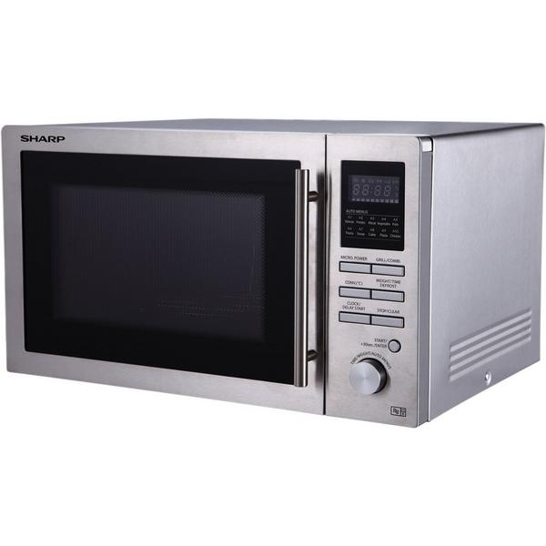 Sharp R82STMA 25 Litre Combination Microwave - Stainless Steel