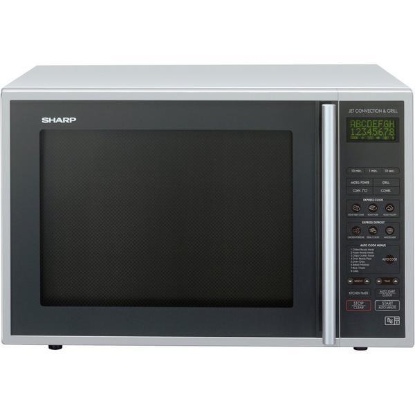 Sharp R959SLMAA 40 Litre Combination Microwave - Black/Silver