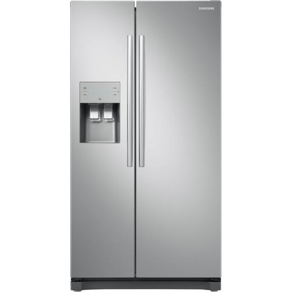 Samsung RS50N3513SL American Style Fridge Freezer - Clean Steel - A+ Rated