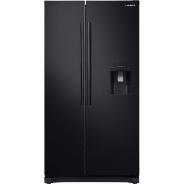 Samsung RS52N3213BC American Style Fridge Freezer - Black - A+ Rated