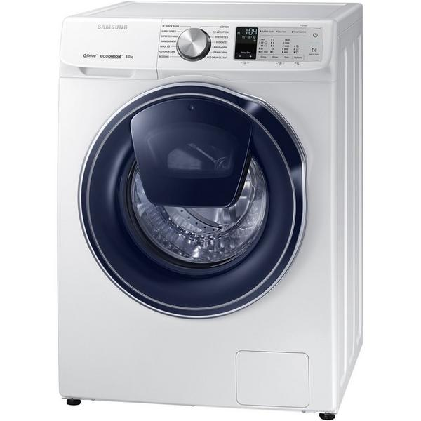 Samsung WW80M645OPA 8kg 1400 Spin Quickdrive Washing Machine - White - A+++ (-40%) Rated