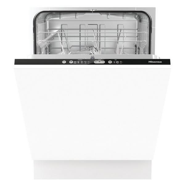 Hisense HV651D60UK Integrated Full Size Dishwasher - White - A+++ Energy Rated
