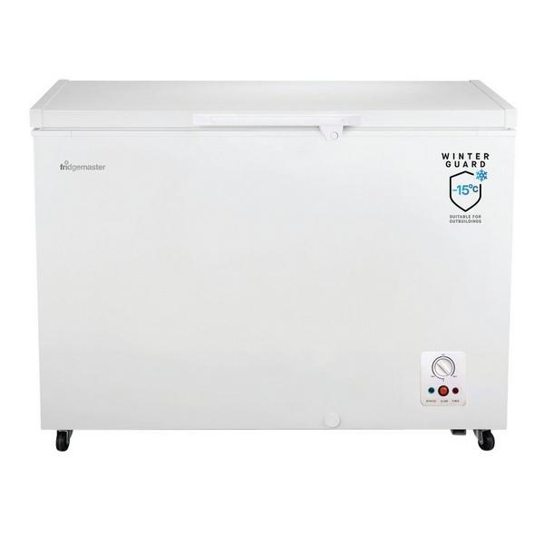 Fridgemaster MCF306 112.5cm Static Chest Freezer - White