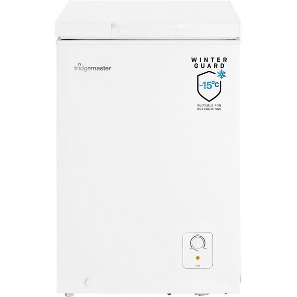 Fridgemaster MCF95 55cm 95 Litre Chest Freezer - White - A+ Rated