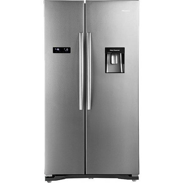 Hisense RS723N4WC1 American Style Fridge Freezer - Stainless Steel Effect - A+ Rated