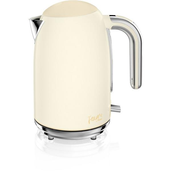 Fearne By Swan SK4030HON 1.7 Litre Silent Boil Kettle - Pale Honey
