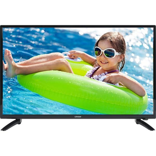 "Linsar 32LED320 32"" HD Ready LED TV -Black - A+ Rated"