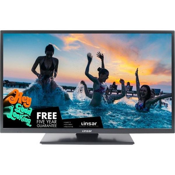 "Linsar 32LED800 32"" HD Ready 720P - TV/DVD - Freeview Play - Built in WiFi - A+ Rated"