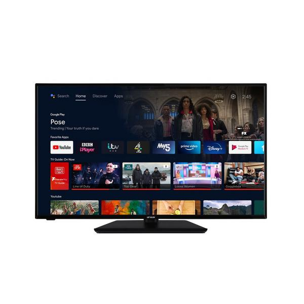 """Linsar GT55UHDLUXE 55"""" 4K UHD Smart TV with Dolby Vision and DTS"""