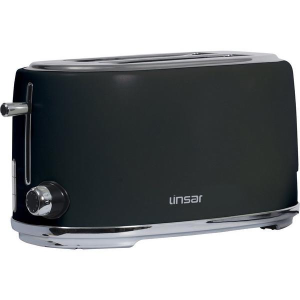 Linsar KY832BLACK 4 Slice Toaster - Black