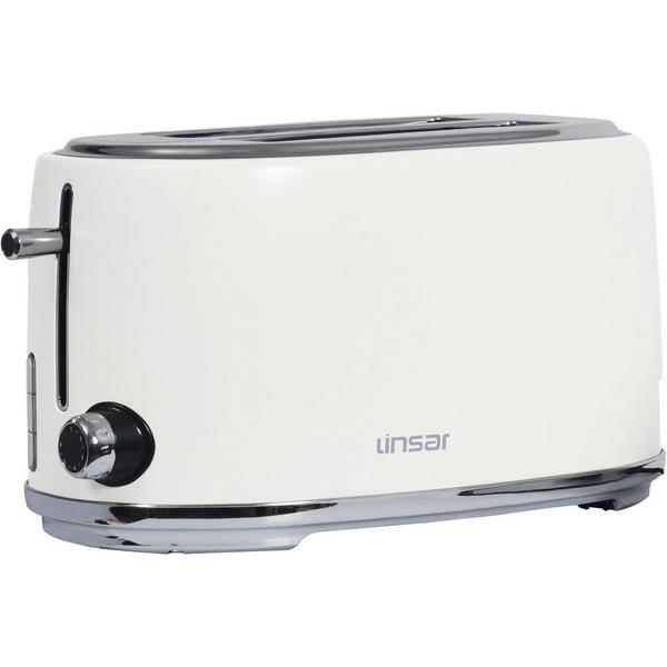 Linsar KY832WHITE 4 Slice Toaster - White