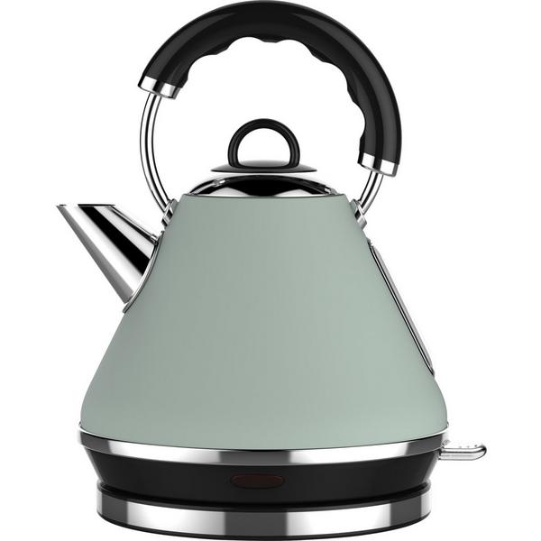 Linsar PK117GREEN 1.7 Litre Pyramid Kettle - Green