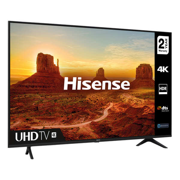 """Hisense 43A7100FTUK 43"""" 4K Ultra HD Smart TV with DTS Studio Sound & Freeview Play"""
