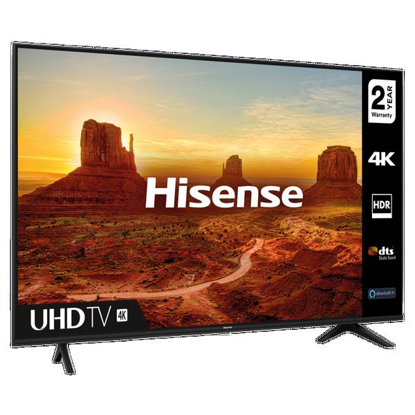 """Hisense 50A7100FTUK 50"""" 4K UHD Smart TV - A+ Energy Rated"""