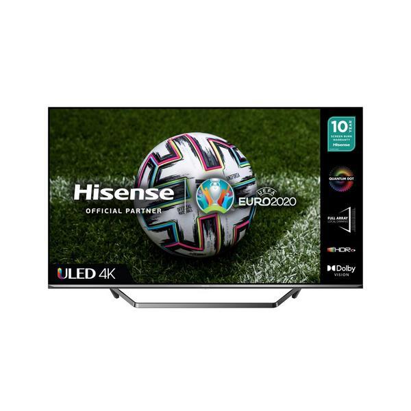 "Hisense 50U7QFTUK 50"" 4K Ultra HD LED Smart TV with Dolby Atmos & Dolby Vision"