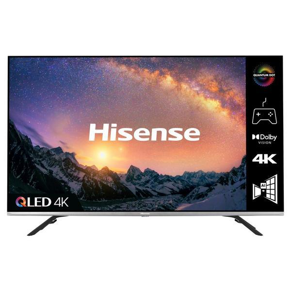"Hisense 55E76GQTUK 55"" QLED 4K UHD HDR SMART TV HDR10+, Dolby Vision™, Dolby Atmos®, Alexa & Google Assistant"