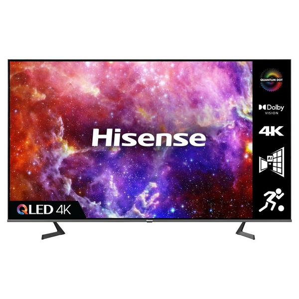 """Hisense 75A7GQTUK 75"""" QLED 4K UHD HDR SMART TV with HDR10+ Dolby Vision™, Dolby Atmos® and Alexa & Google Assistant"""