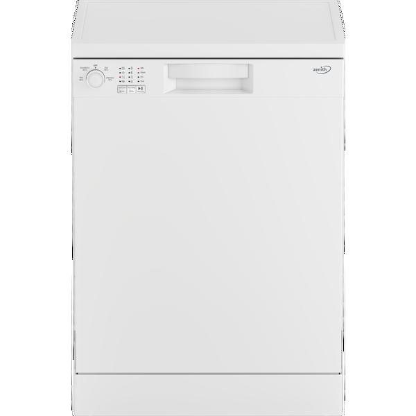 Zenith ZDW600W Full Size Dishwasher - White - 13 Place Settings