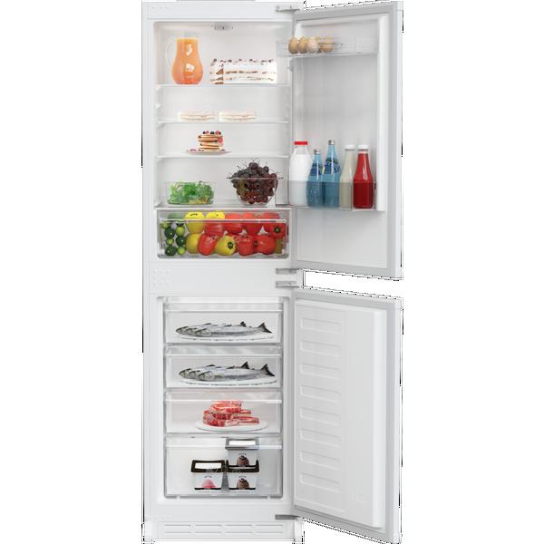 Zenith ZICSD355 Integrated Fridge Freezer - White - Static