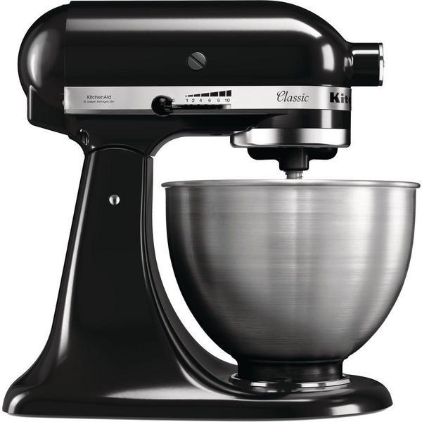 KitchenAid 5K45SSBOB Classic Stand Mixer - 4.3 Litre Bowl - Black