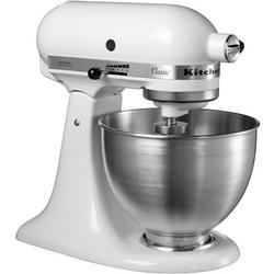 KitchenAid 5K45SSBWH Classic Stand Mixer - 4.3 Litre Bowl - White