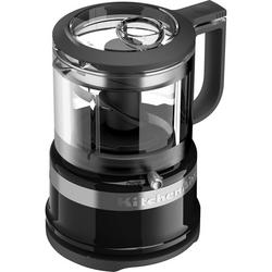 KitchenAid 5KFC3516BOB Classic Mini Food Processor - 0.83 Litre - Black