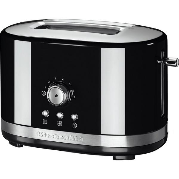 KitchenAid 5KMT2116BOB 2 Slice Toaster - Onyx Black